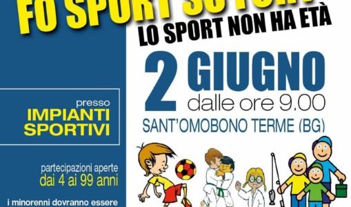 02 Giugno 2018-Fo Sport So Fort-Giornata di Festa a Sant'Omobono Terme