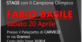 20 Aprile 2019-FABIO BASILE a CARVICO