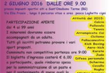 02 giu 2016 – Fo Sport So Fort a Sant'Omobono