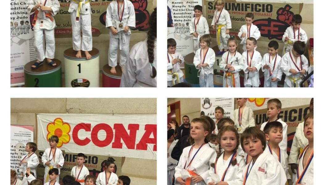 A Paladina la 2° prova di Judo Csi. In testa la Shentao